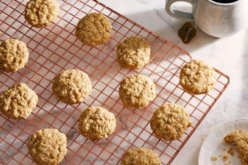 3-Ingredient Oatmeal Cookies