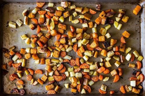 Crisp & Tender Roasted Root Vegetables