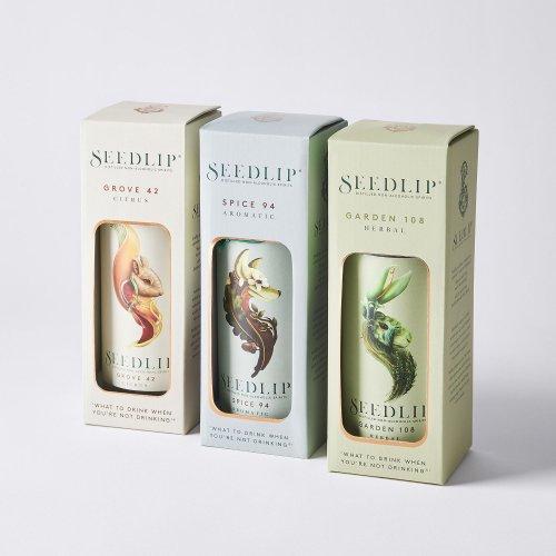 Seedlip Non-Alcoholic Spirits, 3 Flavors