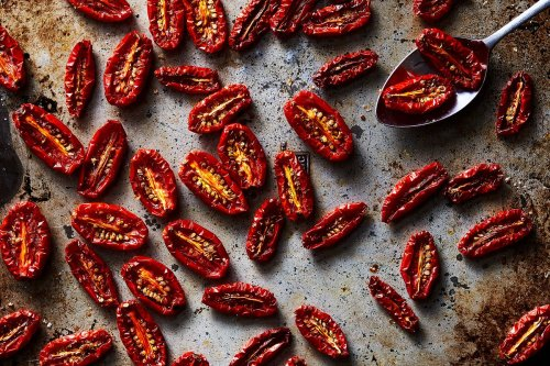 Molly Wizenberg's Slow-Roasted Tomatoes with Sea Salt & Ground Coriander
