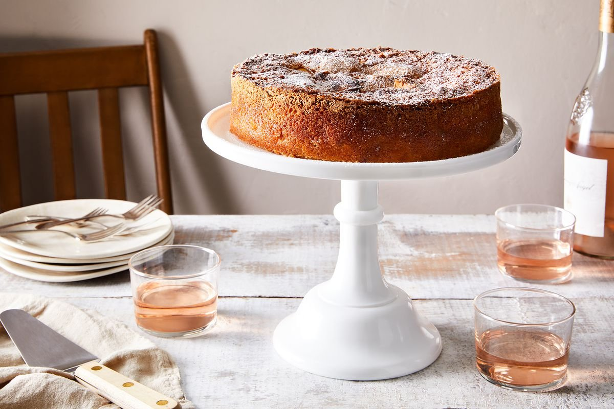 Simple Summer Peach Cake