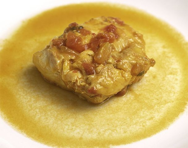 Moroccan Fish In Saffron Ginger Sauce