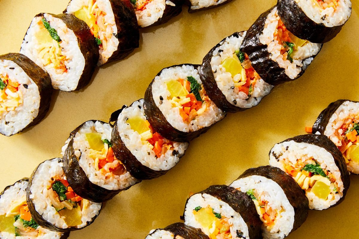 Best Kimbap (Seaweed & Rice Rolls)