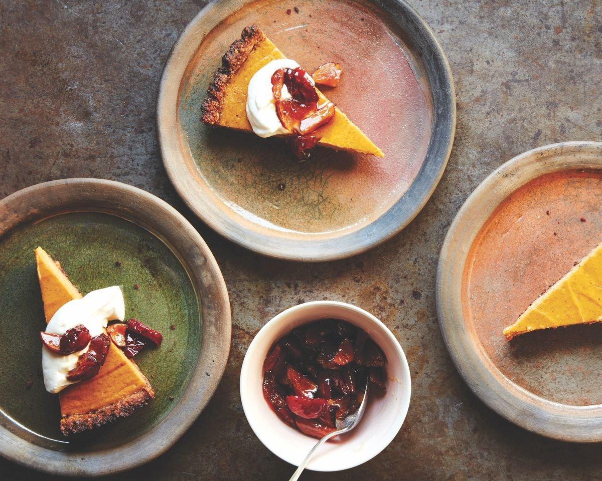 Sweet Potato Tart With a Coconut Pecan Crust