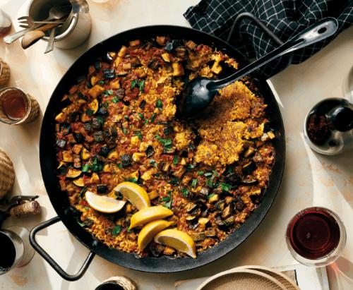Paella dell'orto - Food&Wine Italia