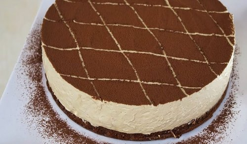 Creamy Cold Cappuccino Pie