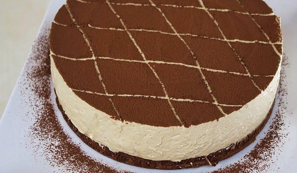 Creamy Cold Cappuccino Pie Recipe