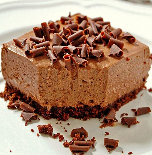 Rich Chocolate Creamcake Bars Recipe