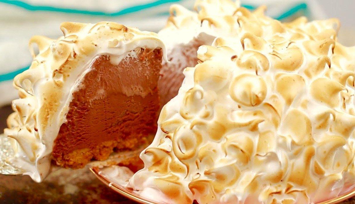 No-Bake Chocolate Alaska (20-Minutes Dessert)