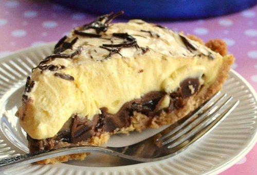Chocolate Banana Peanut Butter Pie Recipe