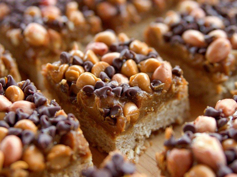 Dulce De Leche and Butterscotch Chocolate Bars Recipe