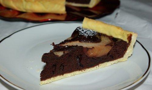 Tuscan Dark Chocolate Fruit Tart