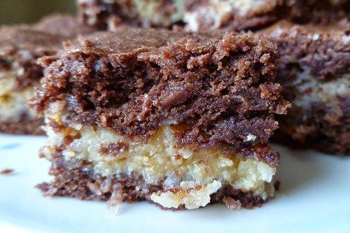 Coconut Macaroon Brownies Recipe