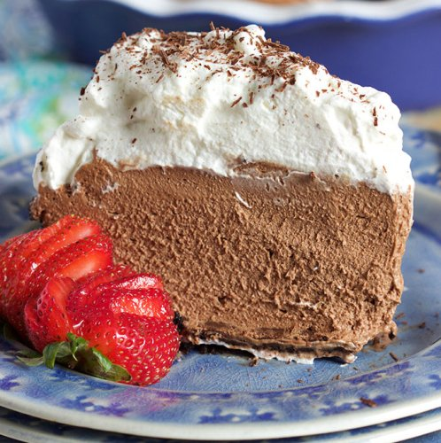 Creamy Chocolate Mousse Pie