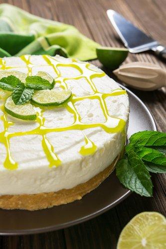 Mojito Cheesecake (10-Minute Dessert)