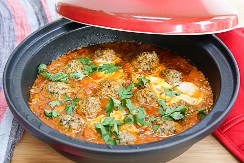 Moroccan Kefta Tagine With Eggs Recipe