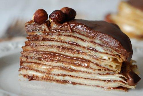 Simple Secrets for Decadent Dessert: Nutella Crepe Cake