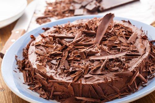 Dark Chocolate Mousse Pie Recipe