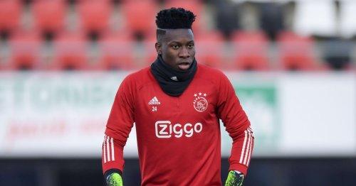 Ajax goalkeeper Andre Onana reportedly still available after transfer U-turn