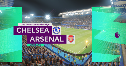 We simulated Chelsea vs Arsenal to see what could happen in Premier League clash