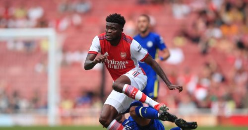 Thomas Partey could miss up to five Arsenal games after latest injury setback