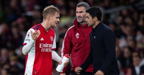 Arteta must avoid repeat of Ozil mistake as concerns grow over Odegaard form