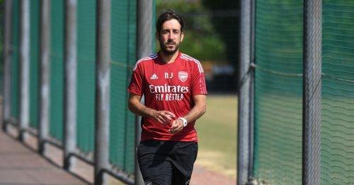 Arsenal fans heap praise on Nicolas Jover after set-piece practice pays off