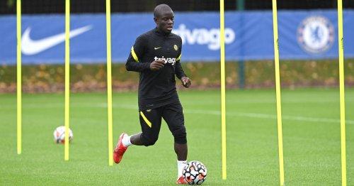 Expected Chelsea side vs Brentford as N'Golo Kante makes his return