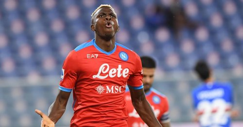 Chelsea reportedly keen on Napoli striker Victor Osimhen amid Arsenal links