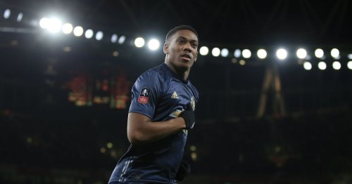Aubameyang has struggled on the wing but fate can change with Martial signing