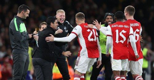 Arsenal press conference live: Mikel Arteta on White, Martinelli and Balogun