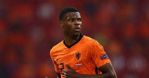 Arsenal fans urge Edu to consider summer transfer for Denzel Dumfries