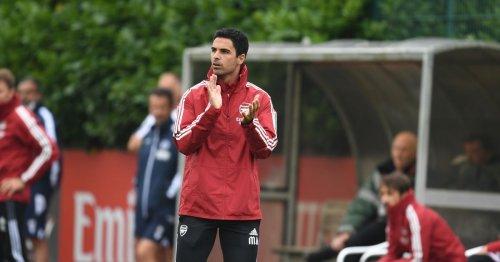 Arteta's pre-season tactics suggest Alexandre Lacazette set to leave Arsenal