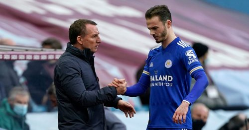 Brendan Rodgers reaffirms Leicester 'don't have to sell' Arsenal target Maddison
