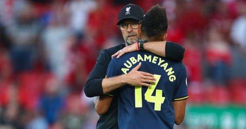 Ferdinand and Klopp have hailed Aubameyang's finishing amid Arsenal resurgence