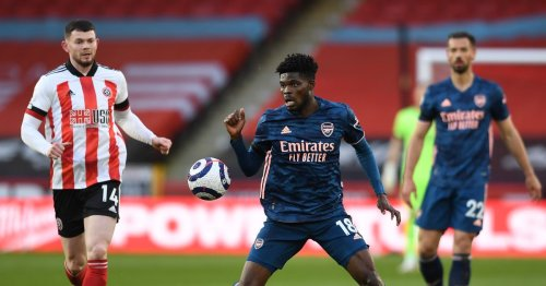 Arsenal fans wax lyrical about Thomas Partey's display at Sheffield United