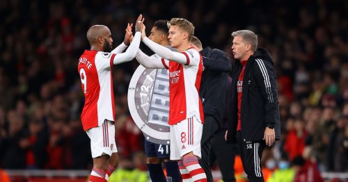 Lacazette could return to Arsenal XI vs Leicester as Odegaard misses out