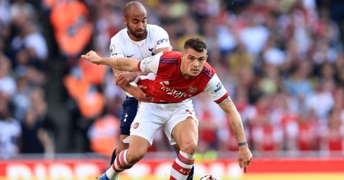 An apology to Granit Xhaka after impressive derby day Arsenal performance