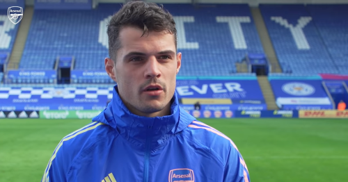 Granit Xhaka calls the Emirates his home after Arsenal transfer decision