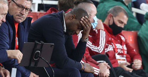Vieira misses revenge opportunity over Arsenal after Palace draw