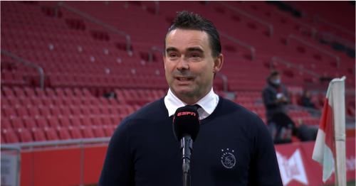 Marc Overmars says he has kept in touch with Arsenal amid Newcastle talks