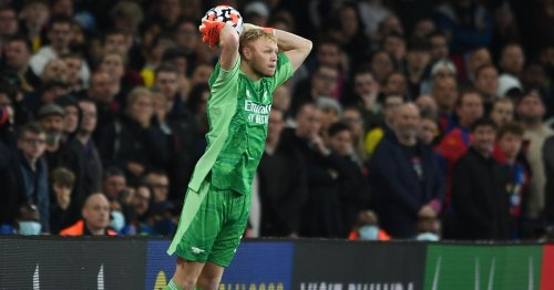 Ramsdale first keeper since Hart to take two throws in same Premier League game