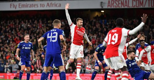 Chambers celebration and Pepe moment to forget in Arsenal things spotted v Leeds