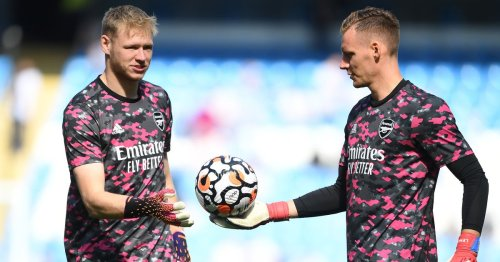 Arteta says Leno should be disappointed about losing Arsenal place to Ramsdale
