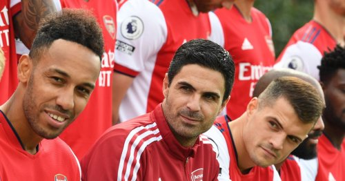 Xhaka could be Arsenal's new vice-captain after being spotted alongside Arteta