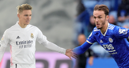 Arteta has transfer dilemma as Arsenal step up interest in Odegaard and Maddison