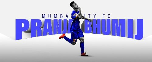 Mumbai City FC signed a three-year extension deal with Pranjal Bhumij