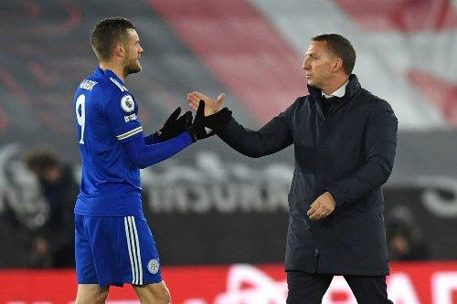 Leicester boss provides injury news on Jamie Vardy, Jonny Evans