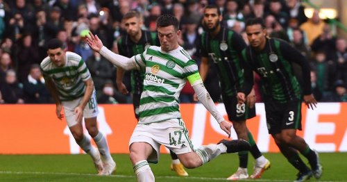 Callum McGregor in Celtic support admiration as more than 50,000 attend game