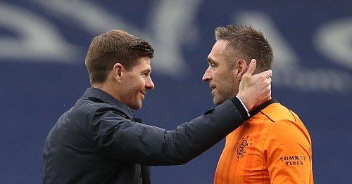 Steven Gerrard explains Allan McGregor's Rangers absence at St Mirren